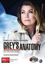 Grey's Anatomy Complete Twelfth Season 12 BRAND NEW SEALED R4 DVD