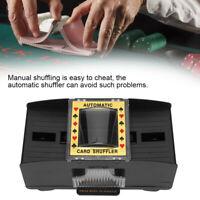 1/2 Electric Automatic Card Shuffler Board Game Poker Playing Shuffling Machine