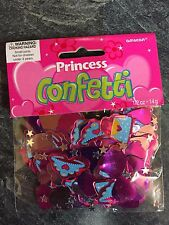 Princess Pretty Pink PINK Table Confetti hearts Princess Party Table Decorations