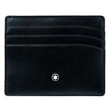 MONTBLANC PORTA CARTE DI CREDITO POCKET HOLDER 6cc Ref. 106653 credit card pelle