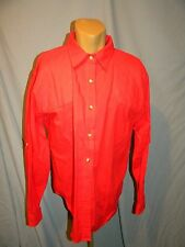 FOXY HUNTRESS  Designer Hunting Apparel  Padded shoulder SHOOTING Shirt   Red