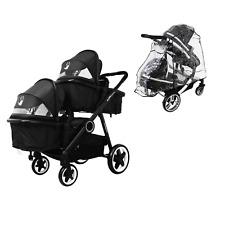 Baby Toddler Pram System & In Line Travel Tandem Lightweight + Second Seat New