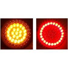 CUSTOM DYNAMICS Dynamic Cluster Bullet LED Turn Signals 1156 Base (Amber/Red)