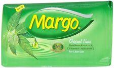Margo Antibacterial Original Neem Soap 75 g X 4 Bars US Seller Multi  Pack Disc