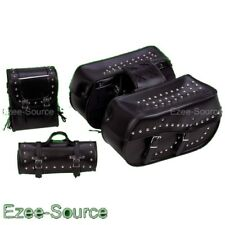 YAMAHA VSTAR 650 V-STAR 1100 STUDDED HARD SADDLEBAGS 4P