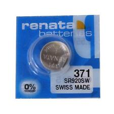 Renata 371 (SR920SW) Watch Battery Swiss Made - Brand New