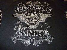Rebels Moto Mayhem Shirt ( Used Size L ) Nice Condition!!!
