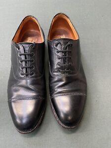 Crockett and Jones Size 7 Oxford Black Shoes