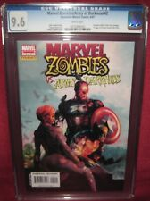 MARVEL ZOMBIES ARMY OF DARKNESS #2 DYNAMITE MARVEL COMIC 2007 series - CGC 9.6