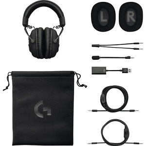 NB Logitech G Pro X 7.1 Gaming Headset w/ Blue Voice DAC