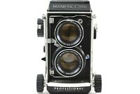 【 Exc +++ 】 MAMIYA C220 TLR w/ SEKOR DS 150mm f/3.5 Blue Dot Lens from JAPAN 338
