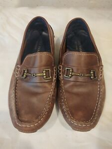 Cole Haan Mens Kelson Slip-on Loafer Signature Size 8.5 Brown Free Shipping