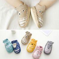 Newborn Baby Kids Toddler Anti Slip Shoes Cartoon Slipper Floor Socks Boots Hot