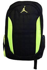 Nike Air Jordan Jumpman Lockdown Backpack Black Volt 9A1137 982 Laptop Bookbag