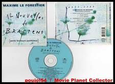 """MAXIME LE FORESTIER """"12 Nouvelles De Brassens"""" (CD) 1996"""