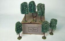 More details for rare boxed  hornby o gauge oak trees