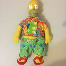 The Simpsons - Hawaiian Homer Doll - 1996 Rare