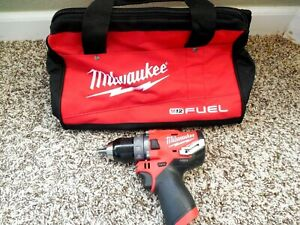 """NEW MILWAUKEE M12 FUEL Brushless 12Volt 1/2"""" Hammer Drill Free Shipping!!!!!"""