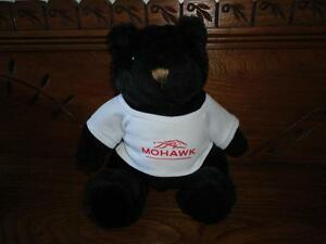 Mohawk Horse Racing Racetrack Canada Black Bear Stuffed Souvenir Toy NEW