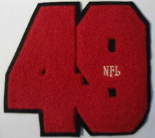 "SAN FRANCISCO  49ERS  PATCH  7"" X 6""  OLDER  PATCH  NEVER  USED"