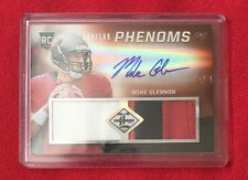 2012 Limited Mike Glennon Phenoms Rookie Auto #184/199. 4 Color Patch