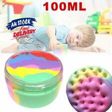 Rainbow Cotton Fairy Slime Stress Relief Kids Toy  Cloud Fluffy Ice cream Mud
