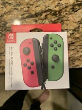 ⛄NEW Nintendo Switch Joy Con Wireless Controller Official Joycon Pink Green⛄