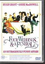 FOUR WEDDINGS AND A FUNERAL - DVD R4 (2003) Hugh Grant LIKE NEW - FREE POST