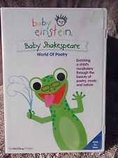 BABY EINSTEIN BABY SHAKESPEARE WORLD OF POETRY  E R4
