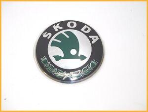 SKODA SUPERB 2008-2013 FRONT / REAR BADGE EMBLEM 3T0853621A - DIAMETER 89mm