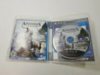 Assassin's Creed III ( PlayStation 3 PS3 ) Tested Disc and Manual