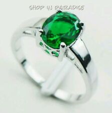 Handmade Emerald White Gold Filled Fashion Jewellery