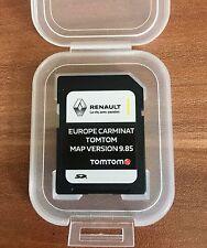 Renault Carminat TomTom Carte SD Navigation Carte 2017 - 2018 V9.85 GPS