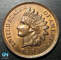 1904 Indian Head Cent Penny  --  MAKE US AN OFFER!  #G9482