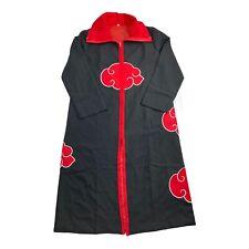 Anime NARUTO Uchiha Itachi Cosplay Costume Cloak Akatsuki Ninja Wind Coat