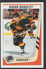 Panini 1989-1990 NHL Ice Hockey Sticker No 152 - Brian Bradley - Canucks
