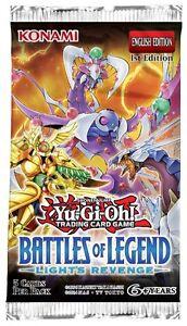 Yugioh Battles of Legend Lights Revenge BLLR - Secret & Ultra Rare TCG Cards