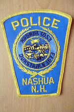 Patches: NASHUA N.H. DUNSTABLE 1673- 1853 POLICE PATCH (NEW*apx12.5x10 cm)