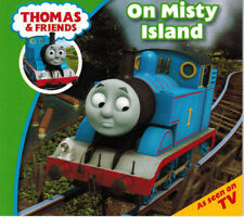 Thomas the Tank Engine Story Book - ON MISTY ISLAND - LARGE Edition -  NEW