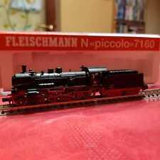 Locomotiva A Vapore Fleischmann Scala N Modello 7160 Analogica