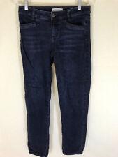 J.Jill jeans womens 4x29 slim boyfriend straight leg dark wash