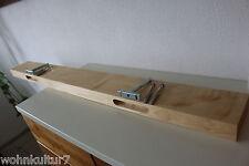 Muro Board Acero Legno Massiccio Board scaffale Steckboard scaffale Brett telescopio NUOVO!!!