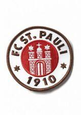FC St. Pauli  Aufnäher, Patch Logo 5 cm farbig  - plus  Aufkleber Fans gegen Rec