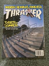 Thrasher Skateboard Magazine December 2002 Andrew Reynolds