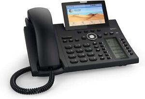 Snom D385 IP phone Black 12 lines TFT - 00004340