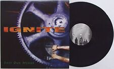 """Ignite-Past our means 12"""" EP 1996 Press Uniform Choice insted no For An Answer"""