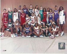 2003 WNBA ALL STAR TEAM & WEST TEAMS LICENSED COLOR PHOTOGRAPHS LESLIE BIRD +++
