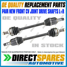 2 Brand New Front CV Joint Drive Shafts for Subaru Outback 9/03-08/09 incl BP