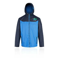 Regatta Mens Myron Waterproof Jacket Top Blue Sports Outdoors Full Zip Hooded
