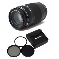 Olympus 75‑300mm F4.8‑6.7 II camera lens + Filter Kit 58mm - UK NEXT DAY DEL